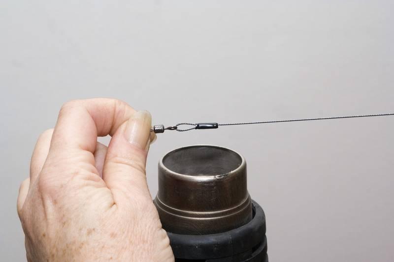 Bas de ligne brochet titanium et fluorocarbone les - Gaine thermo retractable ...