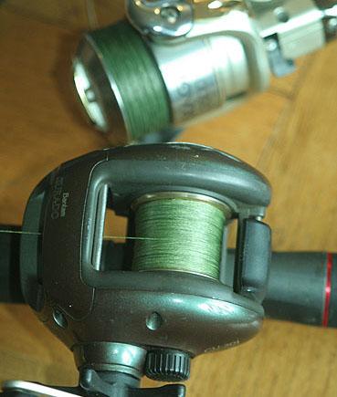 comment remplir moulinet casting