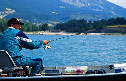 pêche à la dandinette