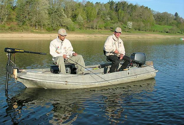 Verticale : action de pêche