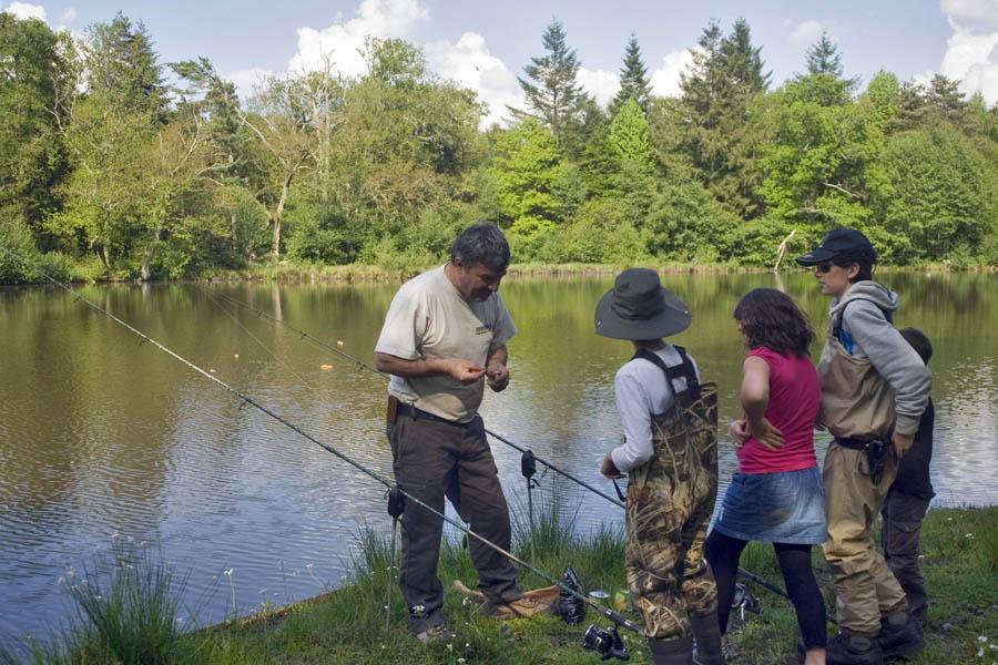 La pêche sur la rivière out